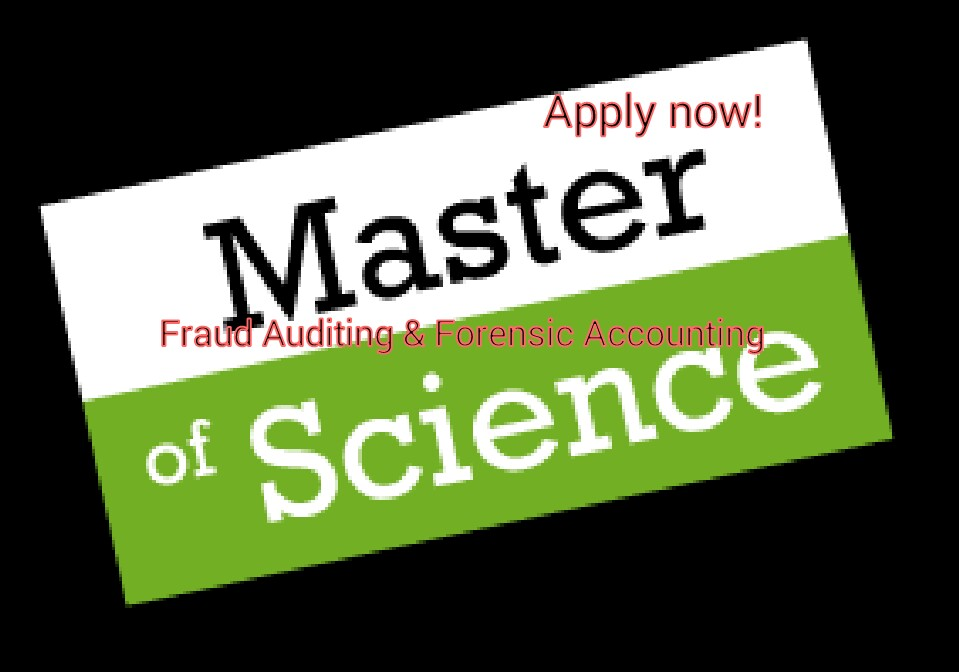 Msc in Fraud Auditing & Forensic Accounting